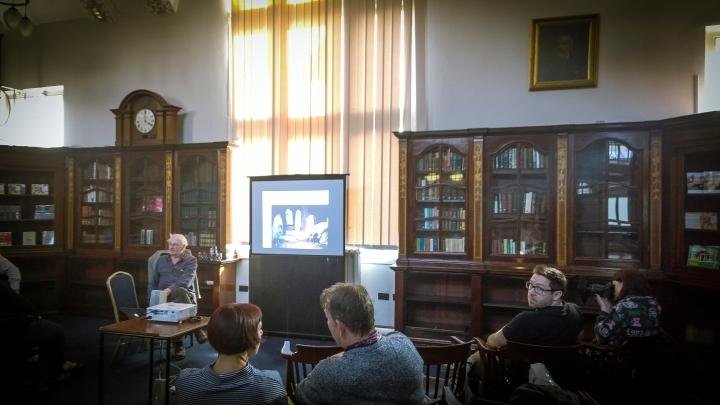 john bulmer at the Library