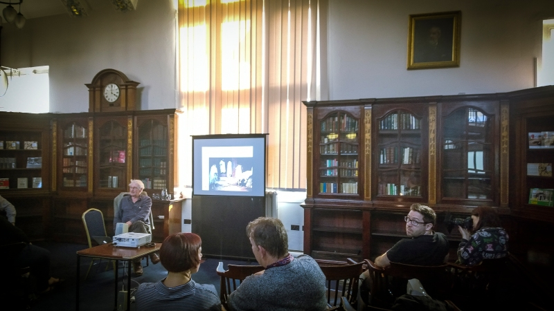 john bulmer at the Library