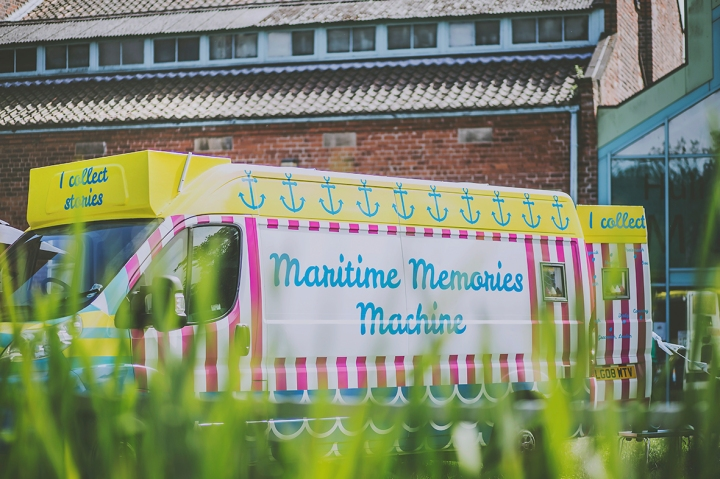 Maritime Memories Machine Van