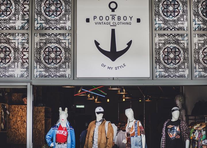 Poorboy Vintage Clothing Humber Street