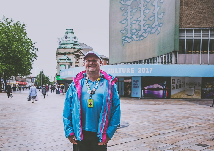 HULL CITY OF CULTURE VOLUNTEER SMILEY AS EVER