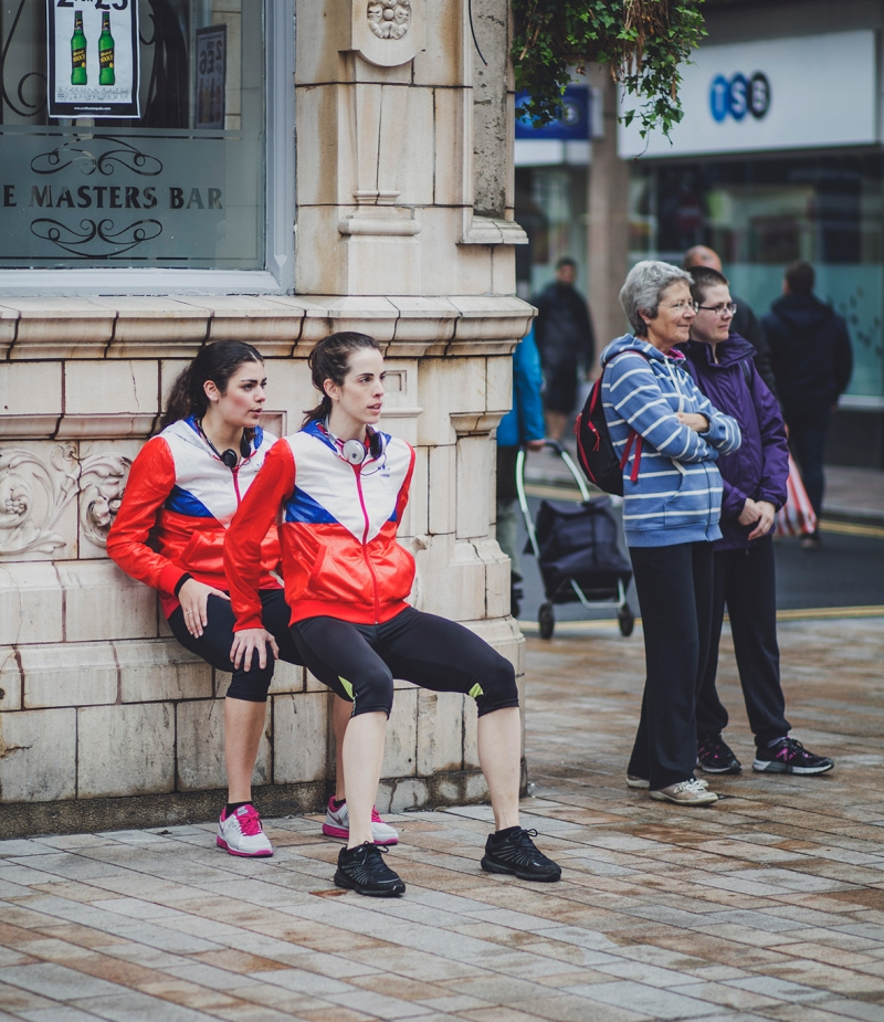 (IN)VISIBLE DANCING PROTEIN DANCE @HULL UK CITY OF CULTURE WARM UP
