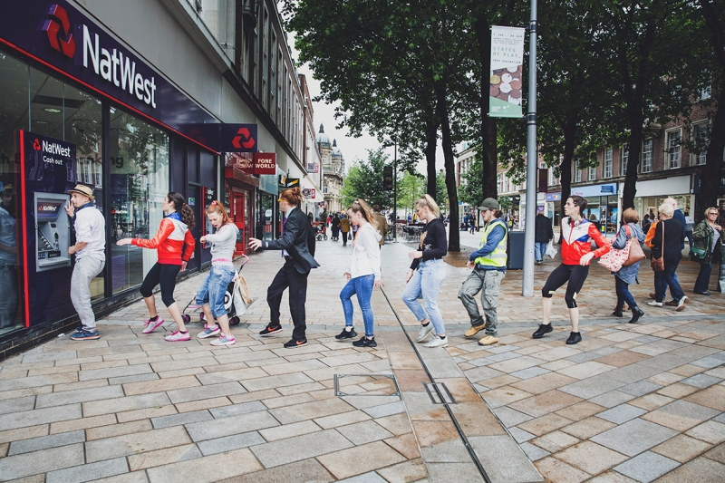 (IN)VISIBLE DANCING PROTEIN DANCE @HULL UK CITY OF CULTURE CASH MACHINE