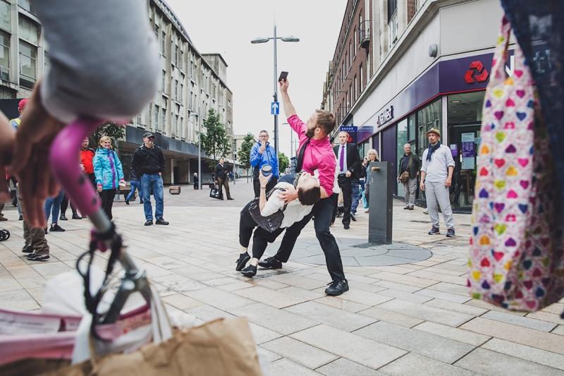 (IN)VISIBLE DANCING PROTEIN DANCE @HULL UK CITY OF CULTURE SELFIE
