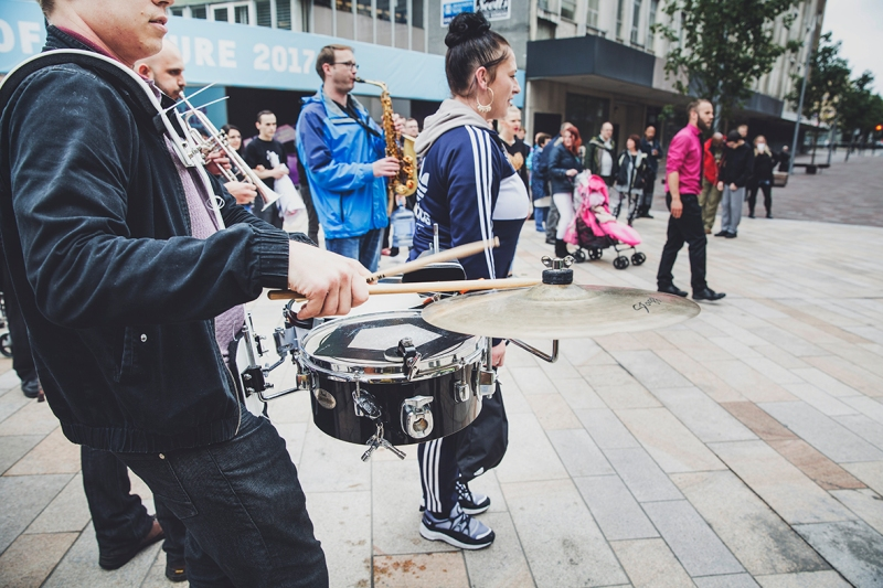 (IN)VISIBLE DANCING PROTEIN DANCE @HULL UK CITY OF CULTURE DRUMS
