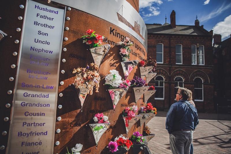 Zebedee's Yard Memorial Kingston Upon Hull