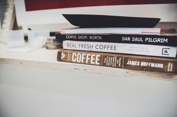TWO GINGERS COFFEE BOOKS