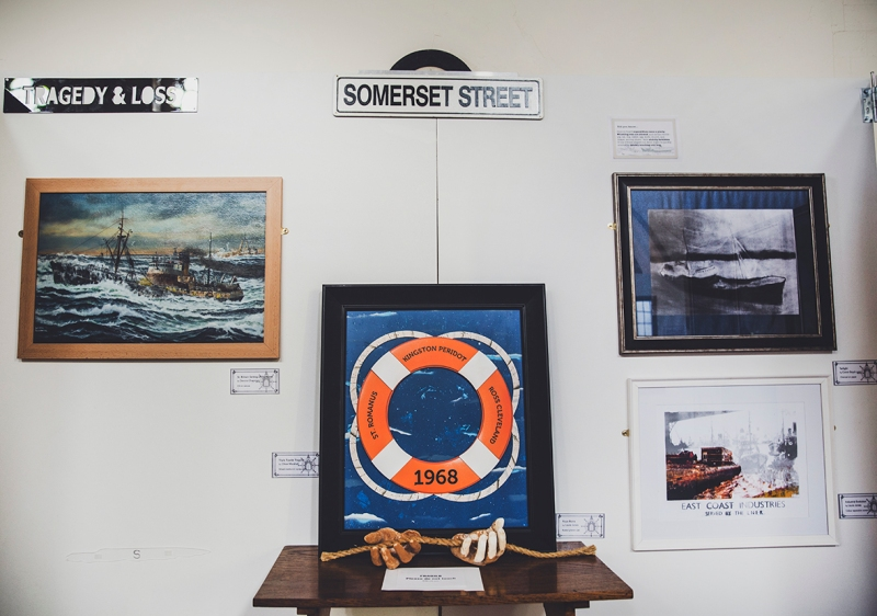 HULL FISHING HERITAGE ART EXHIBITION ST. JOHNS BAPTIST CHURCH ART DISPLAY SOMERSET STREET