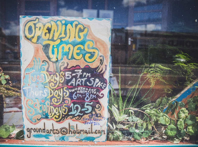 GROUND GALLERY Opening Times