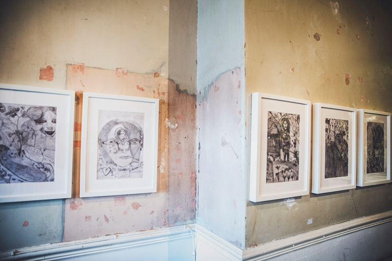 LIFE IN PICTURES BY KAUSAR @GROUND GALLERY DRAWINGS 2