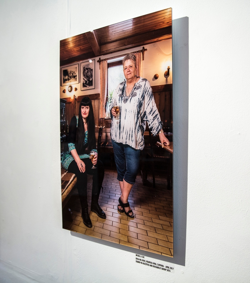 VISIBLE GIRLS: REVISITED by ANITA CORBIN friends reunited photograph