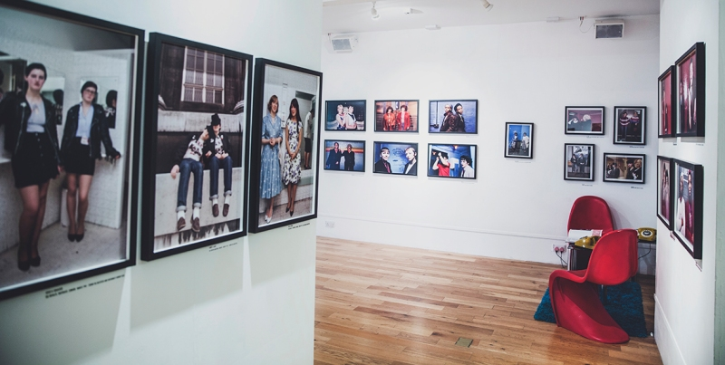 VISIBLE GIRLS: REVISITED by ANITA CORBIN wide angle