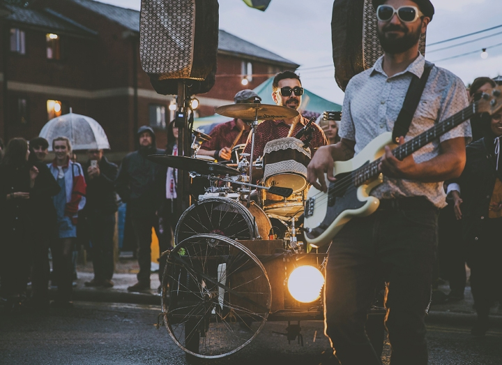 MUSIC ON CYCLES LA DINAMO FREEDOM FESTIVAL 2017