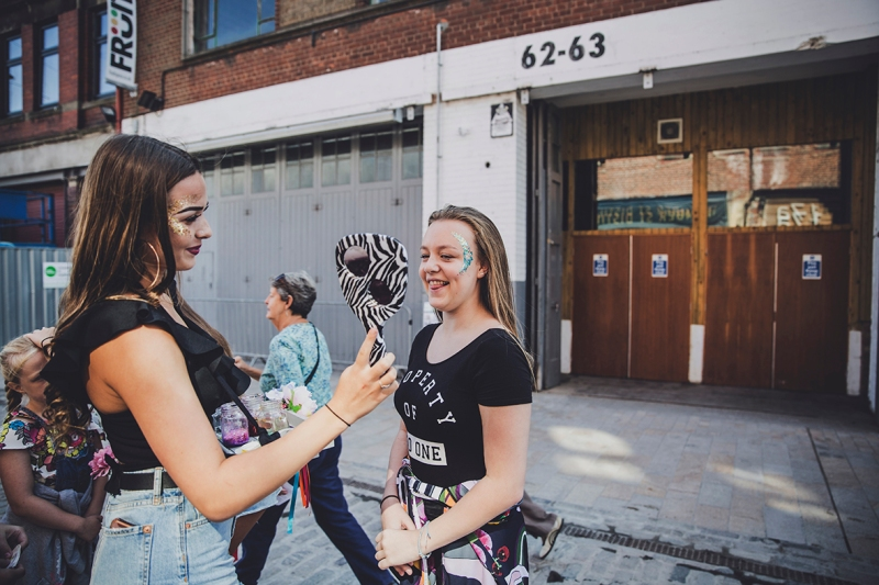 FACE PAINTING 4 U HUMBER STREET FREEDOM FESTIVAL 2017