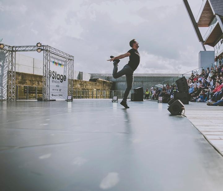 MAN DANCING MAN AND BEAST  COMPANY CHAMELEON FREEDOM FESTIVAL 2017
