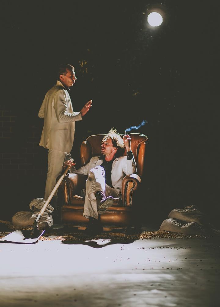 MAN SAT ON THE CHAIR THE BAINA TRAMPA FRITZ FALLEN LA COLLECTIF G BISTAKI FREEDOM FESTIVAL 2017